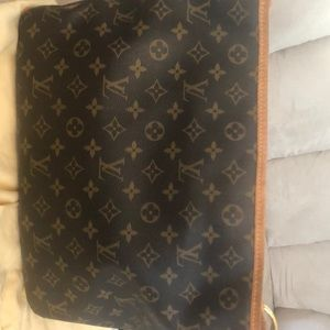 LV delightful tote shoulder bag